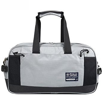 Splash-proof outdoor gym travel shoulder bags announce carry-on sports  duffel holdall   8109f970c6df2