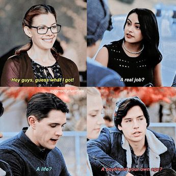 - riverdale x glee whoops lol ↳ least favourite character? - i