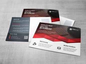 Business Postcard Design Templates - Graphic Templates