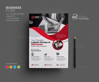New Corporate Flyer Templates - Graphic Templates