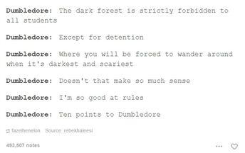 25 publications Tumblr qui feront mourir de rire les fans de Harry Potter