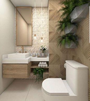 40 Clean and Fresh Small Bathroom Design Ideas