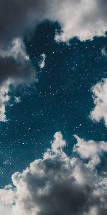 Dreamy Blue sky full of stars! how come? #stars #sky