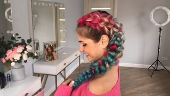 Dutch Braid With Extensions