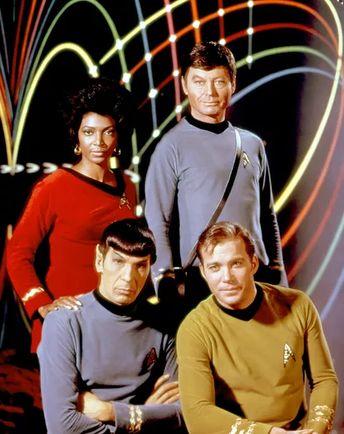 Zip me up, Scotty: 50 years of Star Trek uniforms