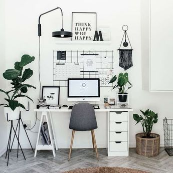 24 Best Home Office Decorating | Ideas, Desaign, Inspiration - KATYDIDANDKID