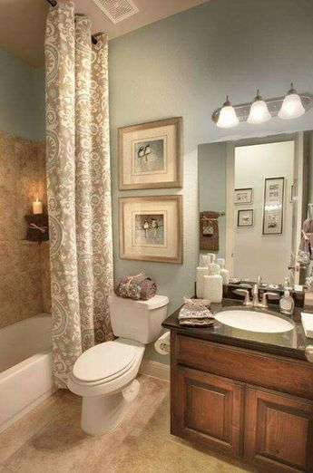 One component that can make your Scandinavian bathroom look extra eye-catching is the shower drape. The following is a collection of concepts on Scandinavian bathroom shower curtains. #scandinavianbathroomideas