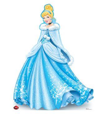 Holiday Cinderella - Limited Time Edition! - Cardboard Cutout 1734