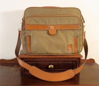 53f4cbe549983 Clearance Church's Northhampton England Carry On Bag In Gre
