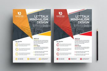 PSD Classy Business Flyer Templates 002842 - Template Catalog