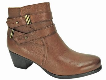 c1e983feeb8 Naturalizer Women s Kepler Ankle Booties Banana Bread Leather Size 8.5 M