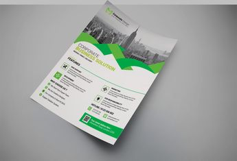 Sarasota Modern Business Flyer Design Template - Graphic Templates