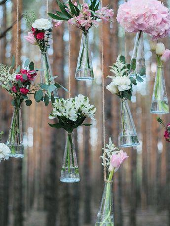Blumendeko für die Hochzeit - die schönsten Ideen