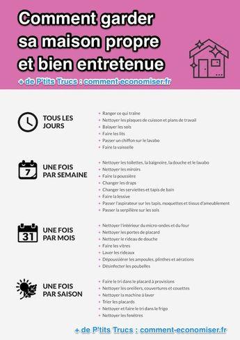 Voici la Bonne Routine à Adopter Pour une Maison Propre et Bien Entretenue. - #à #adopter #Bien #Bonne #Entretenue #la #Maison #pour #Propre #routine #Une #Voici