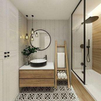 Beautiful bathroom design ideas. #bathroom #smallbathroom #bathroomdecorationideas #bathroomdesignideas #luxurybathroom #masterbathroom #farmhousebathroom