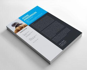 Sleek Resume Design - Graphic Templates