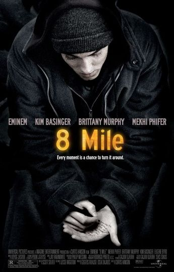 #8mile Movie Poster #2 - #poster #awards #gallery #movie #pictures #posters #cinema #eminem