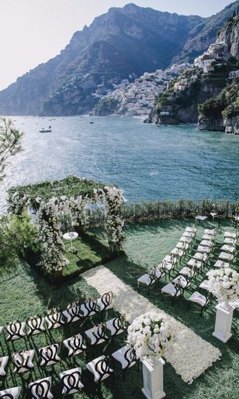 Annie Lawless's Spectacular Wedding in Positano