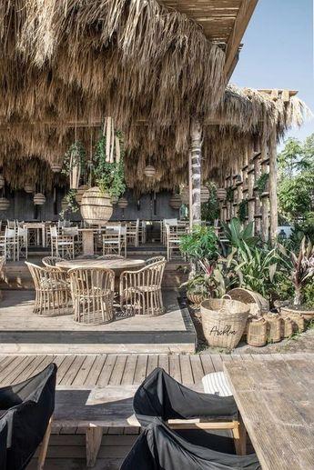 25+ Spectacular Beach Restaurant Interior Exterior Design Ideas