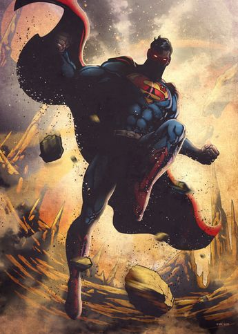 Superman by DC Comics | metal posters