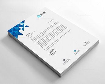 Premium Company Letterhead Template