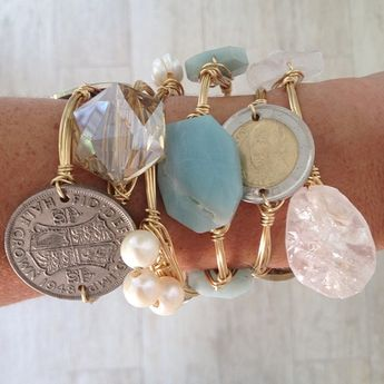 Love these Bourbon and Boweties bracelets. Register your NEXT event with K Catering www.savvybyyou.org