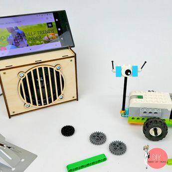 Was kommt, wenn schon alles mit LEGO gebaut wurde? Die nächste Stufe kann LEGO programmieren sein - oder einen Holzbausatz löten!  Wir haben beides ausprobiert und zeigen euch, wie kinderleicht das geht. Alle Tipps, Tricks und Links im neuen Blog!  #KinderDIYTrends #DIY #löten #Kinder #Förderung #MINT #LEGO #Legoroboter #Roboter #LEGOWedo #Bausatz #Holzbausatz #Kreativität #MINT #Schule #Vorschule #Erziehung #Lehrer #Bauen #Konstruktion #Programmieren #App #ConradElectronic (Werbung)