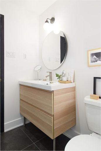 50 Stunning Floating Bathroom Vanities IKEA Ideas