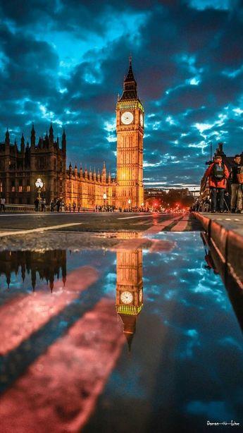 Rainy London, UK