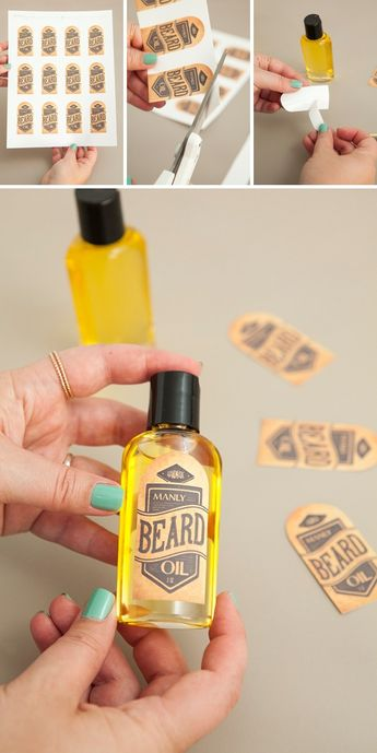 Learn How To Make Your Own Manly Beard Oil!