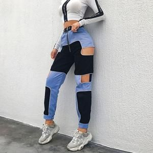 Haya Two Tone Streetwear Pant
