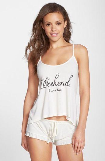 4da5b476ce7e Wildfox  Sleepover  Camisole   Shorts Pajama Set available at  Nordstrom