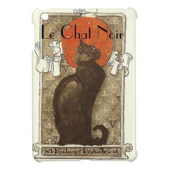 Le Chat Noir iPad Mini Cover | Zazzle.com