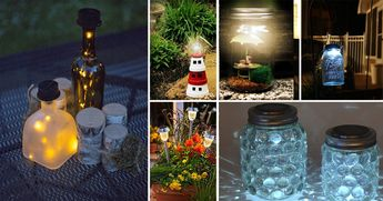 These 28 Cheap & Easy DIY Solar Lighting Ideas Will Help You Decorating Your Home & Garden Like Never Before