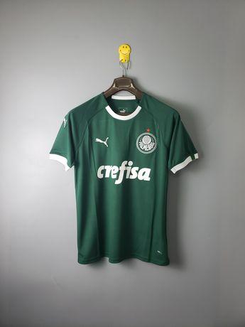 d6275264d Sociedade Esportiva Palmeiras Football club Home 2019-20 Puma Kit Shirt  Trikot Maglia Camiseta De