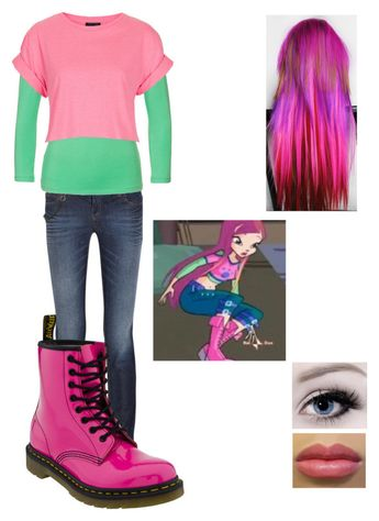 Inspired by Roxy from Winx Club :)