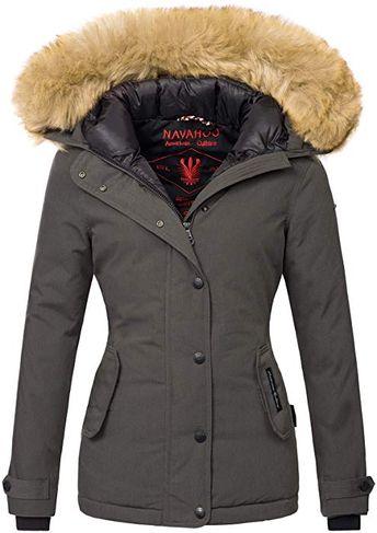 Kleidung & Accessoires AZ Fashion Damen Jacke Winterjacke