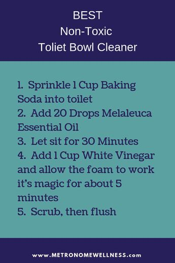 Best Non-Toxic Toliet Bowl Cleaner