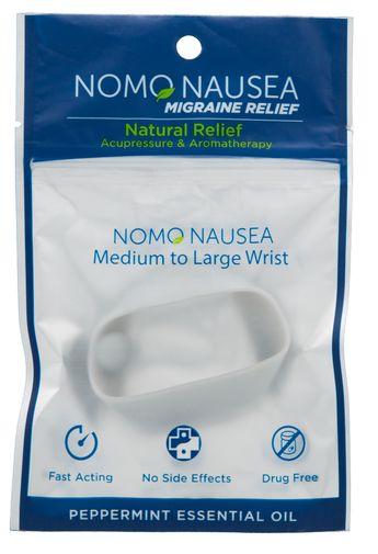 "NoMo Migraine Relief Band Large Wrist (>6.25"""