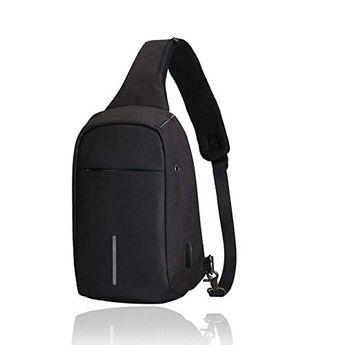 e3ae1a3a606b Enjoy exclusive for Sun-trade SunTrade Men Anti Theft Sling Bag Shoulder  Chest Cross Body