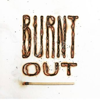 Burnt out  . From a beautiful type work by @ddccad __ Featured by @thedailytype #thedailytype Learning stuffs via: www.learntype.today __ by thedailytype