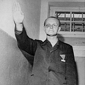 TRIALS  Twelve of the accused war criminals during the Fran