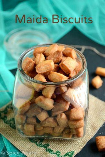 Spicy Treats: Maida Biscuits / Diamond Biscuits ~ Kids Friendly Snack / Diwali Sweet Recipe