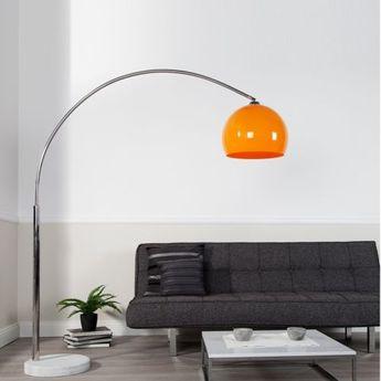Kare Design Big Bow Lampe Bogenlampe Stehleuchte Weiss