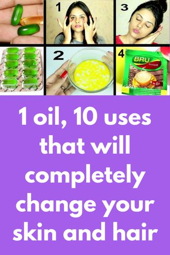 1 oil, 10 uses that will completely change your skin and hair