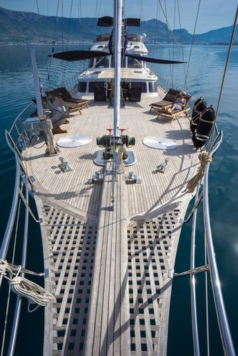 Luxury yacht cruise holidays in Mediterranean Sea Italy by Yacht Boutique www.yachtboutique.eu Gulet Charter Holidays Victoria