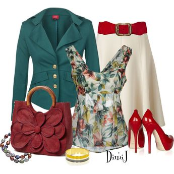 """""""Office Look - Casual Fridays :)"""" by dimij on Polyvore"""