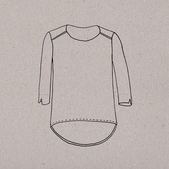 Métrage et fournitures Tissu en 140 cm : 1,50 mètre Passepoil : 1 mètre Biais : 2 mètres Étoffe en 110 cm de laize : 2 mètres Patron en taille réel...