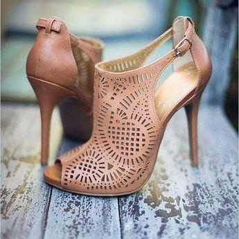 Peep toe Stiletto Heel Dress Sandals