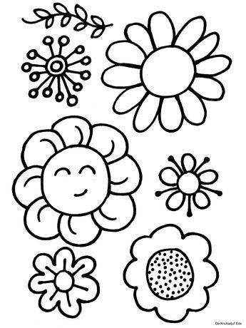 Kleurplaten Voorjaar Peuters.Recently Shared Knutselen Lente Peuters Bloemen Ideas Knutselen